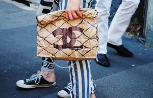 Lunch bag by Celine.