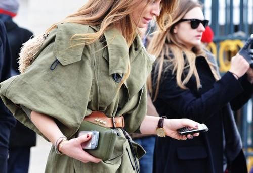 Стиль милитари и мода