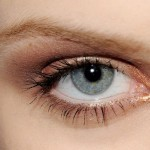 How to make-up blue eyes